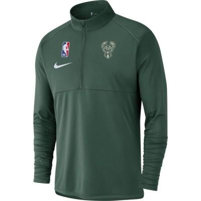ナイキ Nike メンズ トップス ドライフィット Milwaukee Bucks Dri-FIT Element Half-Zip Pullover