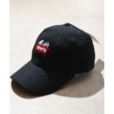 ONE DAY KMC / 【W】【it】【ut】【10】【Levi's】LEVI'S×SNOOPY CAP WOMEN 帽子 > キャップ