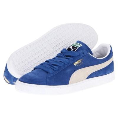 プーマ メンズ スニーカー シューズ・靴 Suede Classic Olympian Blue/White