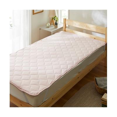 接触超冷感もちもち気持ち良い敷きパッド(裏面高通気メッシュ) 敷きパッド・敷パッド, ベッドパッド, Bed pats(ニッセン、nissen)