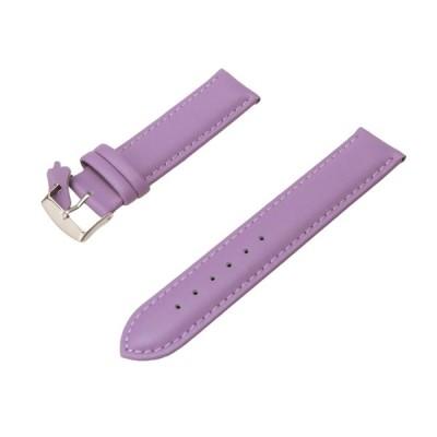腕時計 ベルト 本革 20mm レザー バンド Diloy302エッセンシャル バイオレット