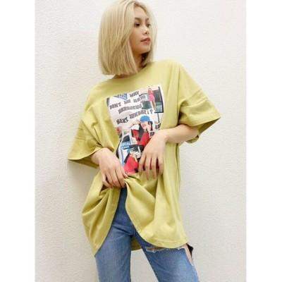 GYDA / アームデザインnooon BIG Tシャツ WOMEN トップス > Tシャツ/カットソー