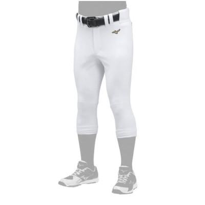 ミズノ メンズ 野球 練習着 ミズノプロ 練習用 ウェア パンツ ユニフォーム ストレッチ パンツ レギュラー フィット 12JD9F10 : ホワイト MIZUNO