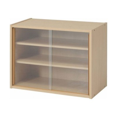ミニ食器棚 幅60cm キッチン収納 引き戸 コンパクト キッチンラック 戸棚 食器 ガラス 収納 棚 シェルフ ラック マルチラック b-81909 おしゃれ 安い
