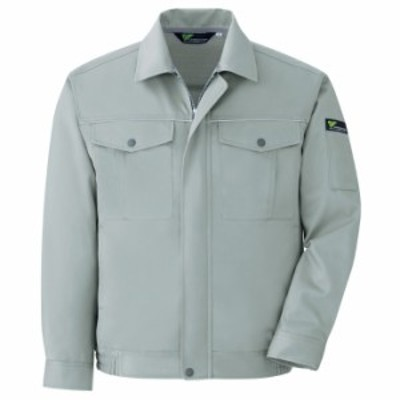 ミドリ安全 エコ静電 T/C ブルゾン グリーン VE446 上衣 ベルデクセルフレックス 作業着 作業服