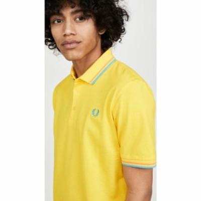 フレッドペリー Fred Perry メンズ ポロシャツ トップス made in japan shirt Cyber Yellow