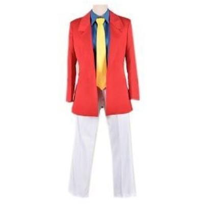 ルパン三世 ルパン スーツ  風 コスプレ衣装 完全オーダーメイドも対応可能