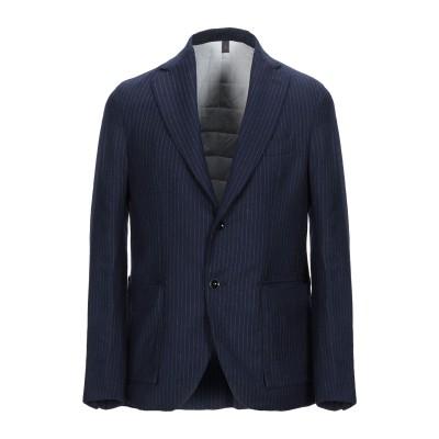 ASFALTO テーラードジャケット ダークブルー 52 バージンウール 100% テーラードジャケット