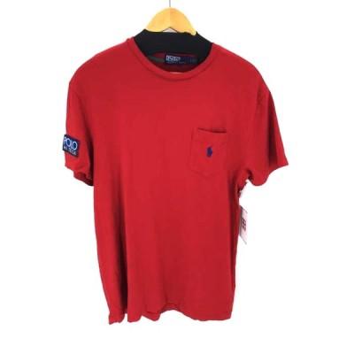 ポロバイラルフローレン Polo by RALPH LAUREN スモールポニー刺繍 ポケットTシャツ メンズ S 中古 201125