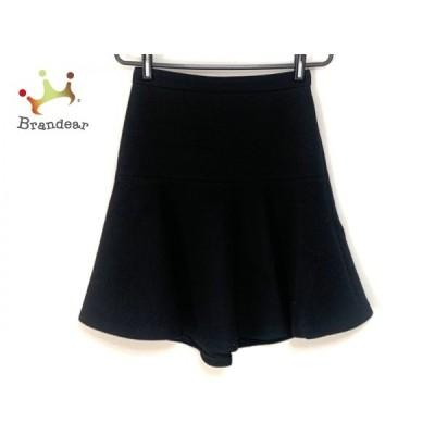 ニジュウサンク 23区 スカート サイズ36 S レディース 黒 Vingt-trois arrondissements       スペシャル特価 20201002