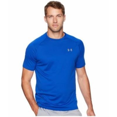 アンダーアーマー メンズ シャツ トップス UA Tech Short Sleeve Tee Royal/Graphite