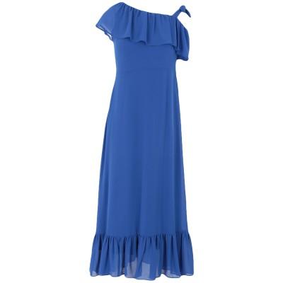 WILD PONY 7分丈ワンピース・ドレス ブライトブルー S ポリエステル 100% 7分丈ワンピース・ドレス