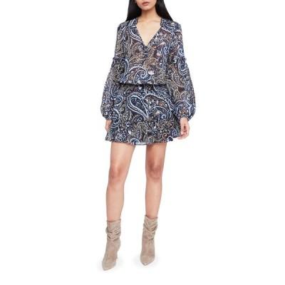 パーカー レディース ワンピース トップス Maribel Printed Long-Sleeve Dress
