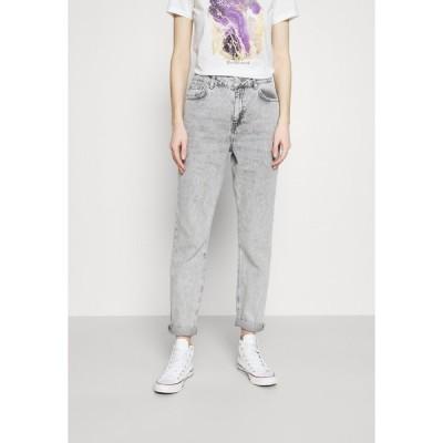 ノイジーメイ デニムパンツ レディース ボトムス NMISABEL TAPERED MOM  - Relaxed fit jeans - light grey