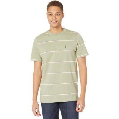 ボルコム Volcom メンズ Tシャツ トップス Yewbisu Short Sleeve Crew Seagrass Green