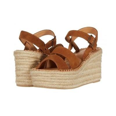 Soludos ソルドス レディース 女性用 シューズ 靴 ヒール Como Platform Wedge - Walnut