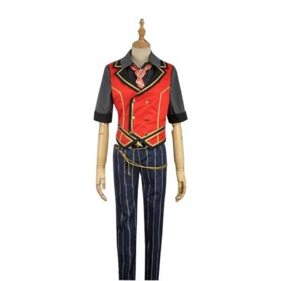 あんさんぶるスターズ 宵の宴 バンドアンサンブル 衣更 真緒 いさら まお 風 コスプレ衣装 イベント 演出服  cosplay