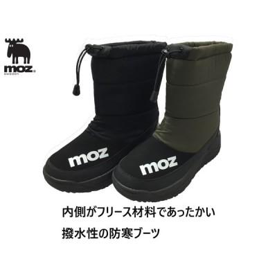 moz 防寒靴 メンズ 撥水 防滑 ブーツ