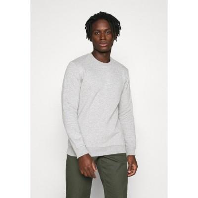 オンリーアンドサンズ パーカー・スウェットシャツ メンズ アウター ONSCERES LIFE CREW NECK - Sweatshirt - light grey melange