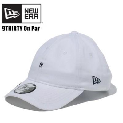 ニュー エラ(NEW ERA) 9THIRTY On Par ニューヨーク・ヤンキース マイクロロゴ 《White》 ゴルフ/キャップ/帽子/男性用[BB]