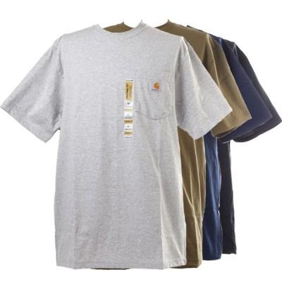 ポケット Tシャツ カーハート Carhartt Men's Pocket T-Shirt K87