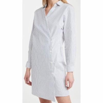 ステートサイド Stateside レディース ワンピース シャツワンピース ワンピース・ドレス Oxford Shirtdress Blue Stripe