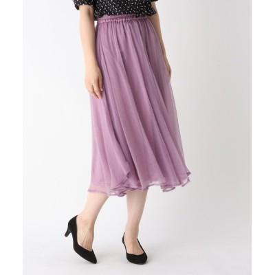 WORLD ONLINE STORE SELECT / ランダムフレアシアースカート WOMEN スカート > スカート
