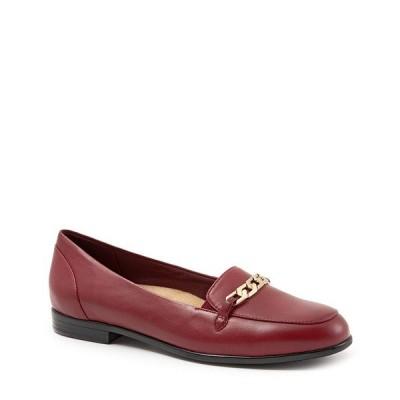 トロッターズ レディース サンダル シューズ Anastasia Dress Loafers Dark Red