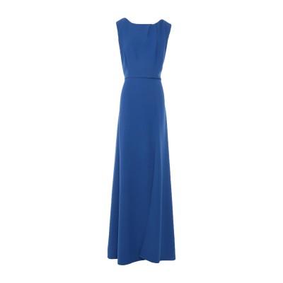 ALEX VIDAL ロングワンピース&ドレス ブライトブルー 40 ポリエステル 97% / ポリウレタン 3% ロングワンピース&ドレス