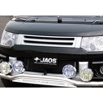 JAOS ジャオス フロントグリル デリカD:5 CV1W CV2W CV4W CV5W 2007/1〜 NVカメラ無車 3DA-CV1W除く ※送料注意