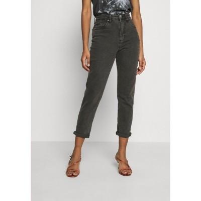 コットンオン デニムパンツ レディース ボトムス Relaxed fit jeans - superwash black