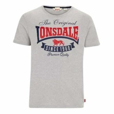 lonsdale ロンズデール ファッション 男性用ウェア Tシャツ lonsdale corrie
