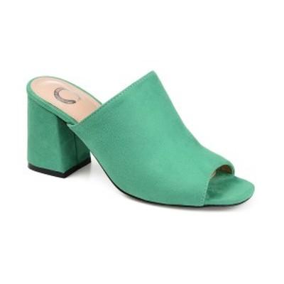 ジャーニーコレクション レディース サンダル シューズ Women's Adelaide Slide Green