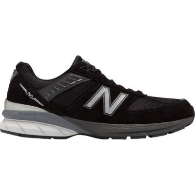 ニューバランス New Balance メンズ スニーカー シューズ・靴 M990V5 Shoes Black/Silver