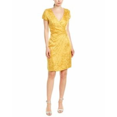 ファッション ドレス Issue New York Sheath Silk Dress 4