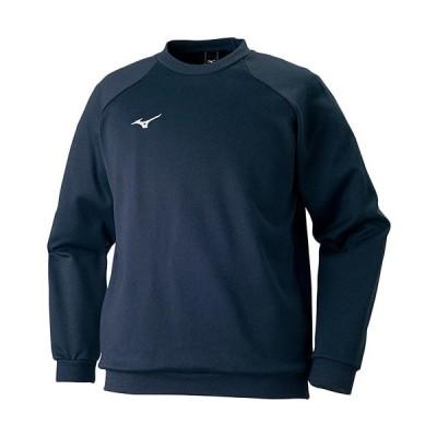 ミズノ(MIZUNO) BS スウェットシャツ 14/ネイビー 32JC717514 スポーツ トレーニングウェア ジャージ パーカー