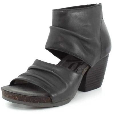 OTBT Women's Patchouli Heeled Sandals - Black - 8 M US