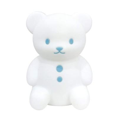 くまのおやすみライト ブルー EX-3013 ハシートップイン セール