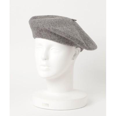 GGD / ウールベレー帽 WOMEN 帽子 > ハンチング/ベレー帽