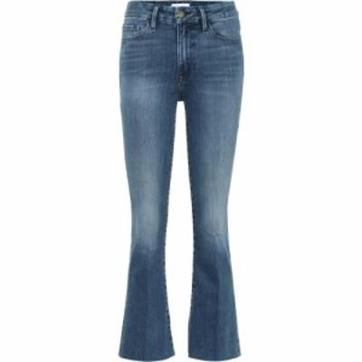 フレーム Frame レディース ジーンズ・デニム ボトムス・パンツ Le Crop Mini Boot Jeans Edgewater