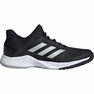 アディダス adidas メンズ スニーカー シューズ・靴 Adizero Club Trainers Black/White