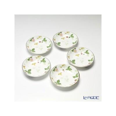ウェッジウッド(Wedgwood) ワイルドストロベリー プチトレイ 5枚セット 皿