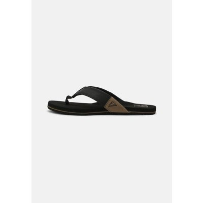 リーフ メンズ 靴 シューズ REEF NEWPORT - T-bar sandals - black
