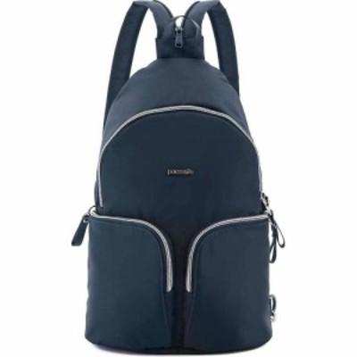 パックセーフ Pacsafe レディース バックパック・リュック バッグ Stylesafe Sling Backpack Navy