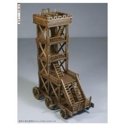 古代中世戦車ローマ軍クラシック戦車モデルシリーズ虐待ram木製模型キット英語命令