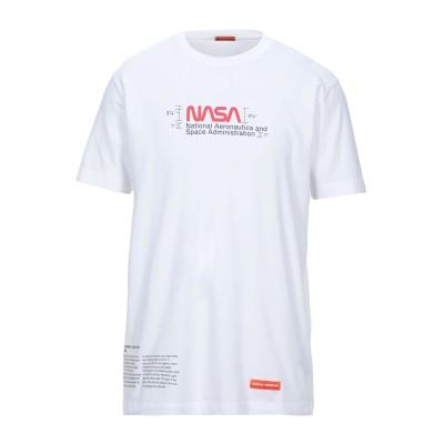 HERON PRESTON T シャツ ホワイト XS コットン 100% / PVA - ポリビニルアルコール T シャツ