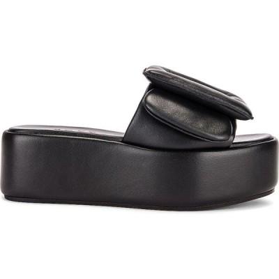 ボーイ Boyy レディース サンダル・ミュール シューズ・靴 puffy sandal platform Black