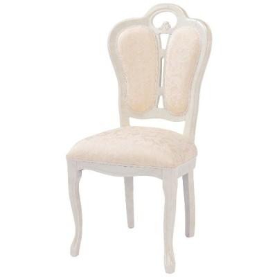 【送料無料】 サルタレッリ フローレンス 椅子 布張(ベージュ) アイボリー SFLI-521-IV