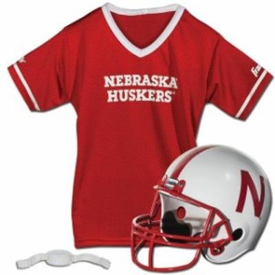 Franklin Sports フランクリン スポーツ スポーツ用品  Franklin Sports Nebraska Cornhuskers Youth Helmet and Jersey Set