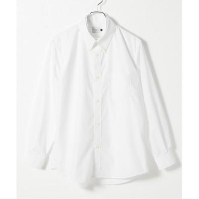 メンズ オリエンス ジャーナルスタンダード 【EFILEVOL/エフィレヴォル】 The Two Basic Shirt:シャツ ホワイト M